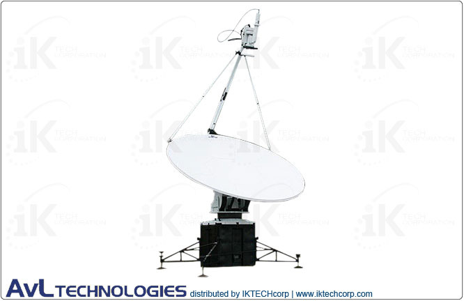 AvL 2020FA 2.0m Military Motorized Quad-Band FlyAway Antenna 2-port Ka-Band Product Picture, Price, Image, Pricing