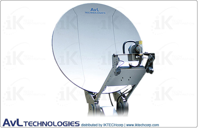 AvL 2410 Premium SNG/Military 2.4m Motorized Transportable Vehicle-Mount Satellite Antenna 2-port X-band Feed  Product Picture, Price, Image, Pricing