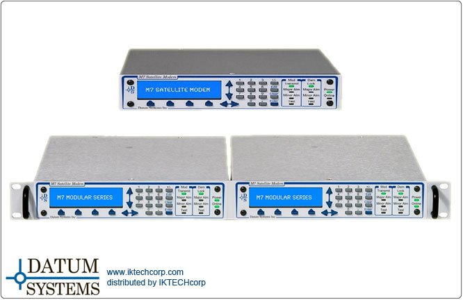 Newtec MDM2200 IP Satellite Modem internet/intranet access, VoIP and multi-casting services.