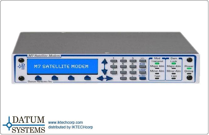Datum M7D M7D IF & M7LD L-Band Modular Satellite Dual-Demods