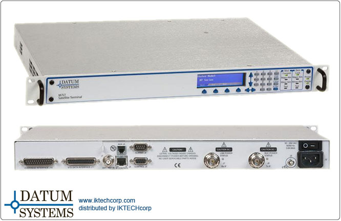 Datum M7LT L-Band Sat-Terminal Modular Satellite Modem