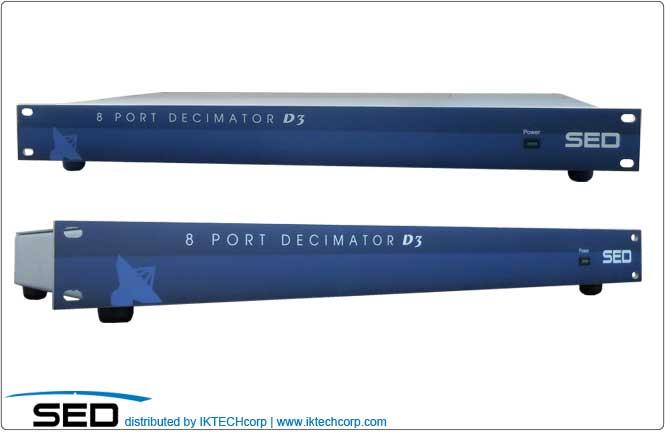 SED Systems Decimator D3 4-Port Digital Spectrum Analyzer