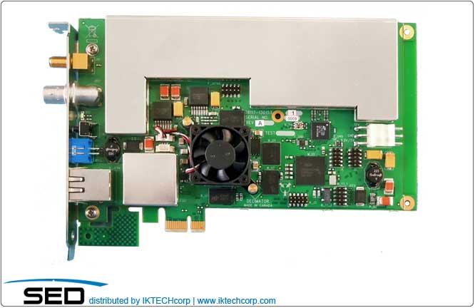 SED Systems Decimator D3 Card Digital Spectrum Analyzer