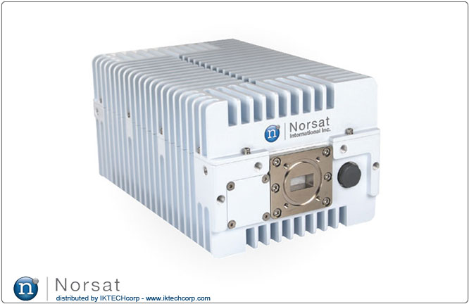 Norsat 1016XRT Ku-BAND 16W NON-INVERTED Block Up Converter BUC N F Type Connector Input Series Product Picture, Image, Price, Pricing