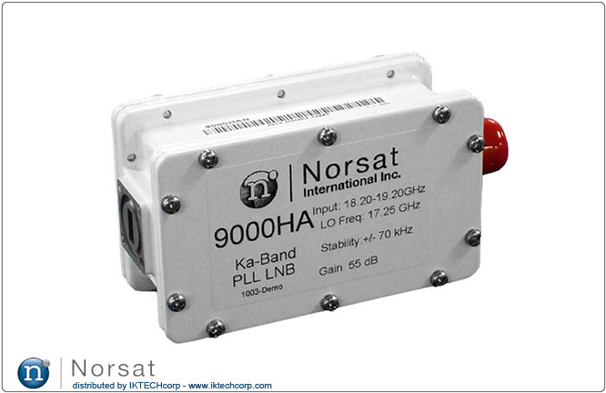 Norsat KA-BAND LNB F or N Type Connector Input 9000H Series PLL Product Picture, Image, Price, Pricing