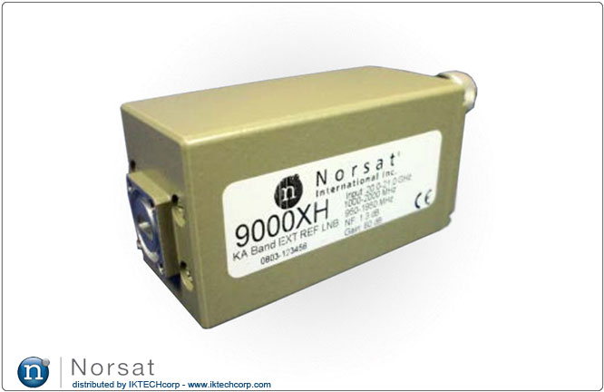 Norsat KA-BAND LNB F or N Type Connector Input 9000XH Series External Reference Product Picture, Image, Pricing, Price