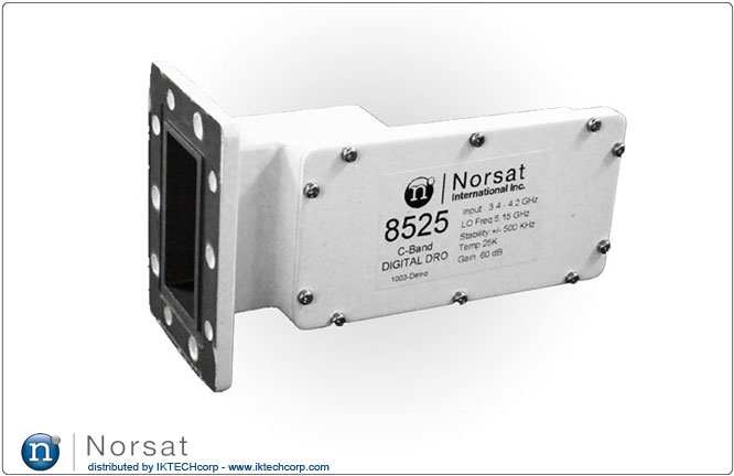 Norsat C-BAND LNB F or N Type Connector Input DRO 8000 Series Product Picture, Image, Price, Pricing