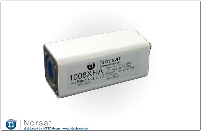 Norsat KU-BAND External Reference LNB F or N Type Connector Input 1000XH Series Product Picture, Image, Price, Pricing