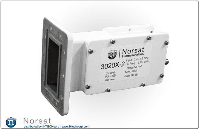 Norsat C-BAND External Reference LNB F or N Type Connector Input 3000X-2 Series External Reference Product Picture, Image, Price, Pricing