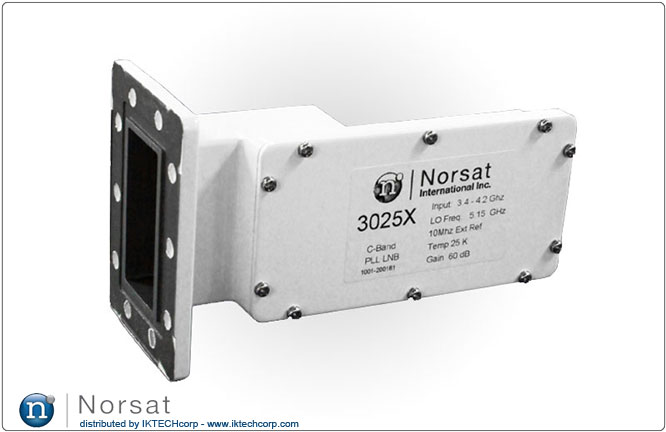 Norsat KU-BAND External Reference LNB F or N Type Connector Input 3000X Series External Reference Product Picture, Image, Price, Pricing