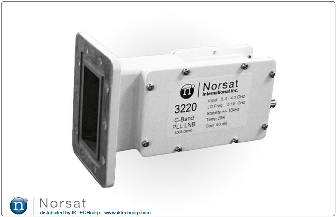 Norsat KU-BAND External Reference LNB F or N Type Connector Input 3000 High Stability Series Product Picture, Image, Price, Pricing