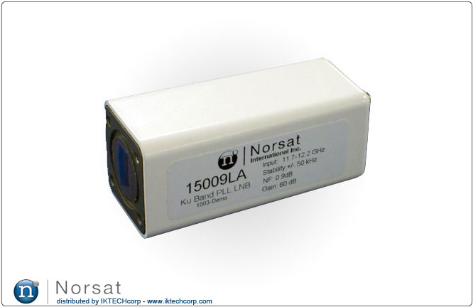 Norsat 15000L KU-BAND PLL LNB Technical Specifications Diagram Product Picture, Image, Price, Pricing