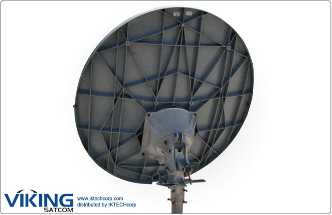 VIKING P-240HW Prodelin 2.4 meter High-Wind Ku-Band TX RX VSAT Transmit Receive Antenna Product Picture, Price, Image, Pricing