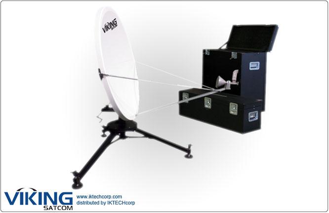 "VIKING VS-120QD2SMCTH-KU 1.2 Meter Ku-Band Rx/Tx Quick-Deploy, ""Long Focal"" Antenna System Product Picture, Price, Image, Pricing"