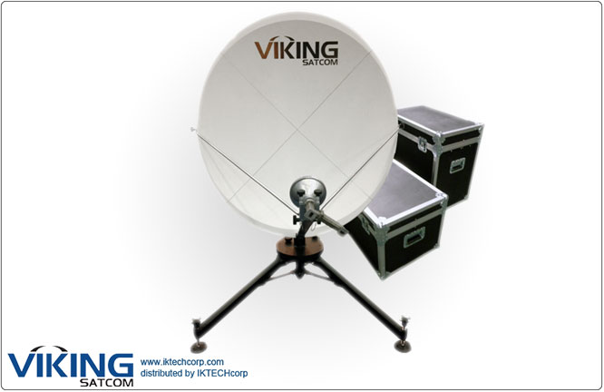 VIKING VS-120QD4SMCTH-KU 1.2 Meter Quick-Deploy VSAT Tx/Rx Transmit/Receive Antenna System Product Picture, Price, Image, Pricing