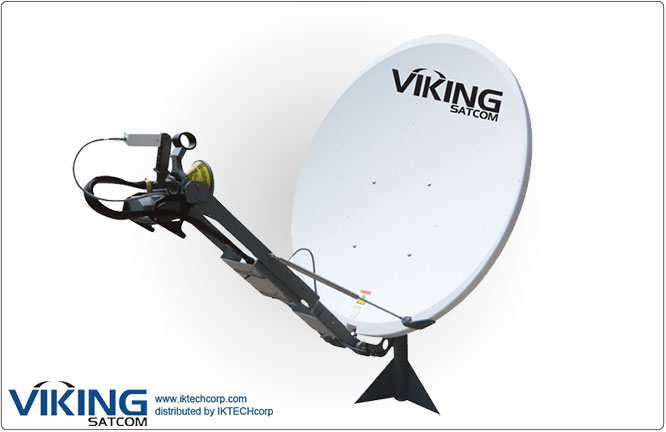 VIKING VS-120SPORTKU 1.2 Meter Semi Portable, Pole Mount, Auto-Point Antenna Product Picture, Price, Image, Pricing